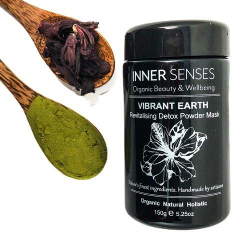 Inner Senses Vibrant Earth Revitalising Detox Powder Mask