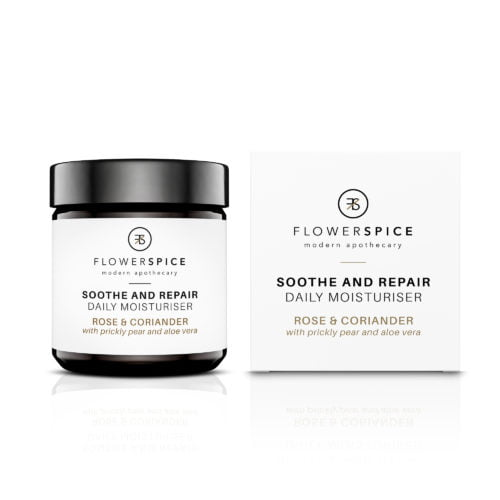 Flower and Spice Soothe and Repair Daily Moisturiser