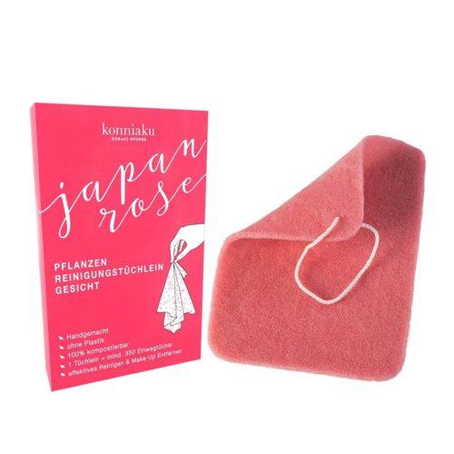 konniaku towel japan rose