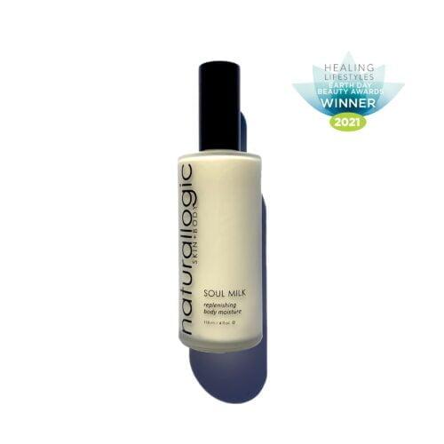 naturallogic soul milk body lotion award